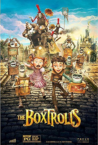 The Boxtrolls Kingsley Harris Frost
