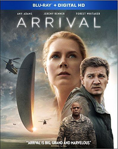 Arrival Adams Renner Whitaker Blu Ray Dc Pg13