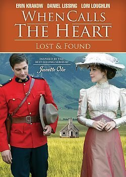 Erin Krakow Daniel Lissing Lori Loughlin Penny P When Calls The Heart Lost & Found DVD