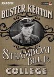 Steamboat Bill Jr. College Buster Keaton Double Feature DVD Nr