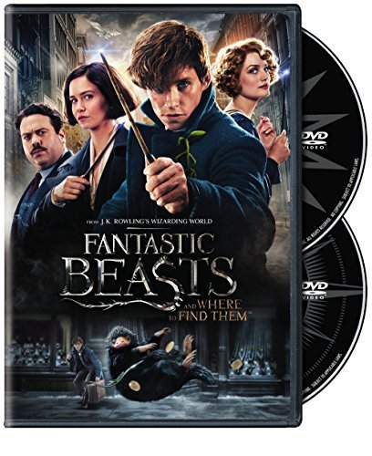 Fantastic Beasts & Where To Find Them Redmayne Waterson Sudol DVD Pg13