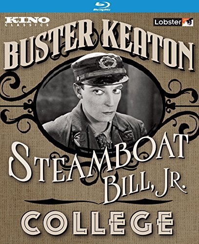 Steamboat Bill Jr. College Buster Keaton Double Feature Blu Ray Nr