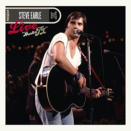 Steve Earle Live From Austin Tx CD + DVD