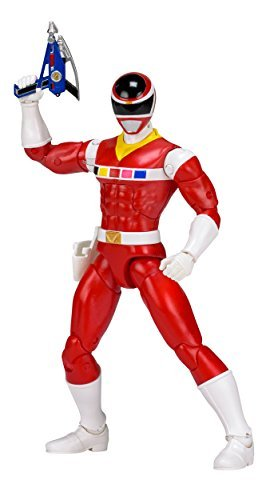 Power Rangers In Space Red Legacy Figure