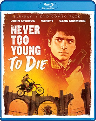 Never Too Young To Die Stamos Vanity Blu Ray DVD R