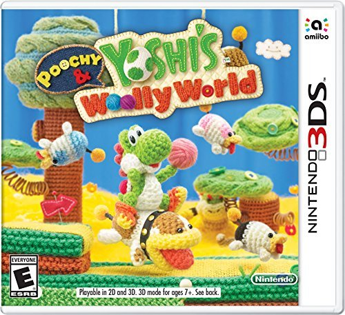 Nintendo 3ds Poochy & Yoshi's Wooly World