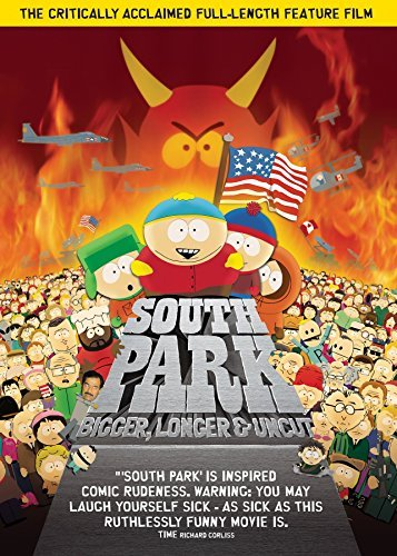South Park Bigger Longer & Uncut DVD R