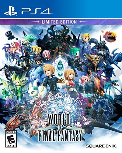 Ps4 World Of Final Fantasy Limited Edition