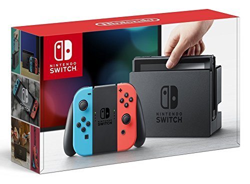 Nintendo Switch Nintendo Switch Console With Neon Blue & Neon Red Joy Cons