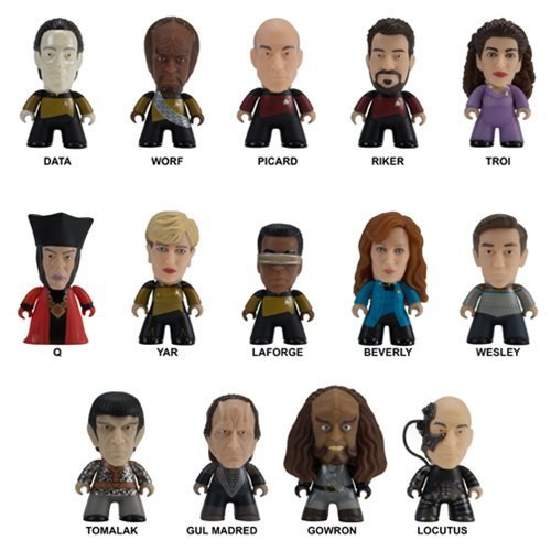 Mini Figure Star Trek Tng Make It So Series 1