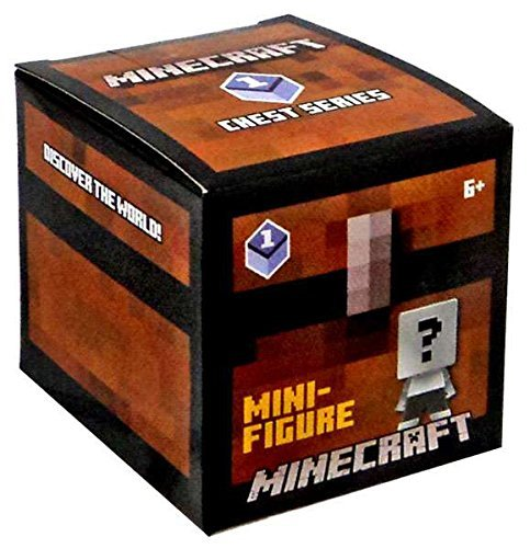 Blind Box Minecraft Mini Figure Chest Series 1