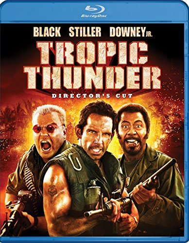Tropic Thunder Stiller Black Downey Nolte Blu Ray R