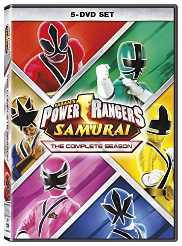 Power Rangers Samurai Complete Season DVD