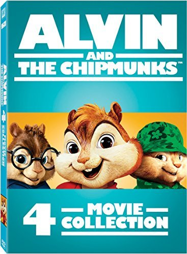 Alvin & The Chipmunks 4 Movie Collection DVD Nr