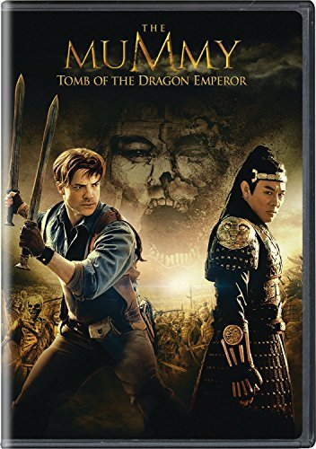 Mummy Tomb Of The Dragon Emperor Fraser Li DVD Pg13