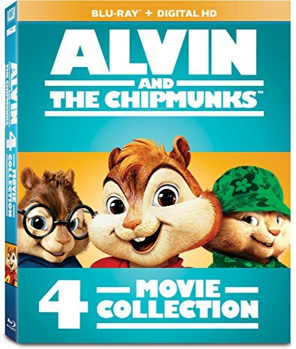 Alvin & The Chipmunks 4 Movie Collection Blu Ray Nr