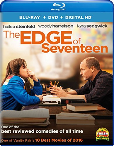 Edge Of Seventeen Steinfeld Harrelson Richardson Jenner Blu Ray DVD Dc R