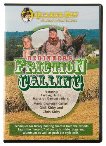 Dick Kirby Chris Kirby Quaker Boy Beginner's Friction Calling DVD