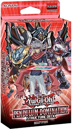 Yu Hi Oh Cards Pendulum Domination Structure Deck