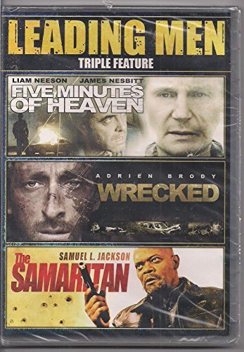 Leading Men Triple Feature Five Minutes Of Heaven Wrecked The Samaritan