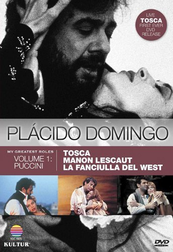 Placido Domingo Tosca (live In Rome In The Set 3 DVD