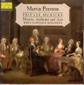 Martin Peerson Motets Anthem & Airs
