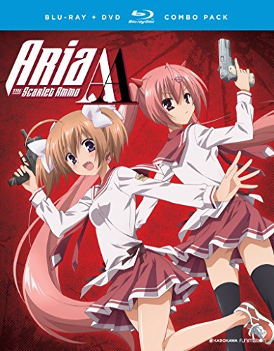 Aria The Scarlet Ammo Aa The Complete Series Blu Ray DVD Nr