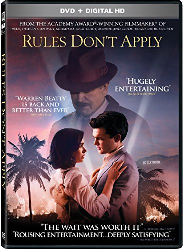 Rules Don't Apply Collins Ehrenreich Beatty DVD Pg13