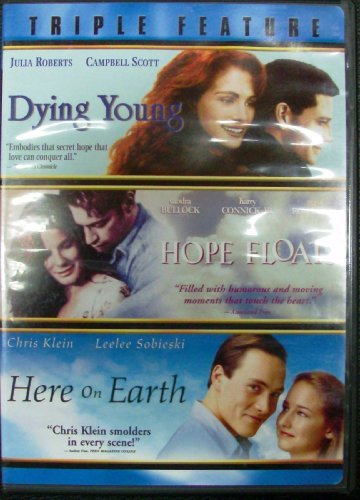 Julia Roberts Cambell Scott Sandra Bullock Harry C Triple Feature Dying Young Hope Floats And Here
