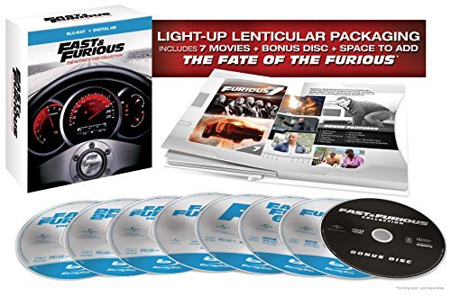 Fast & Furious The Ultimate Ride Collection Blu Ray
