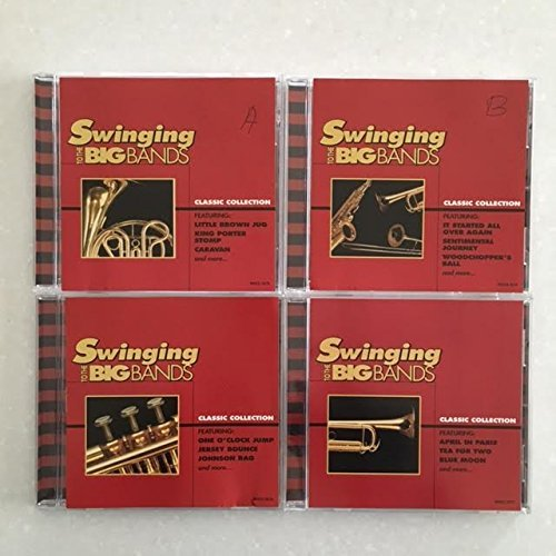 Swinging To The Big Bands 4 CD Music Set 4 CD Set
