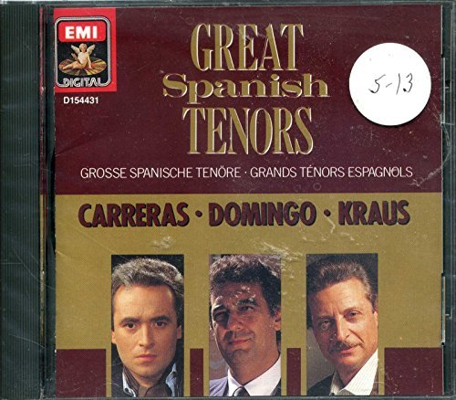 Carreras Domingo Kraus Great Spanish Tenors Carreras Domingo Kraus