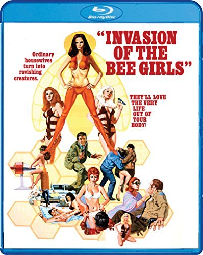 Invasion Of The Bee Girls Ford Smith Blu Ray R
