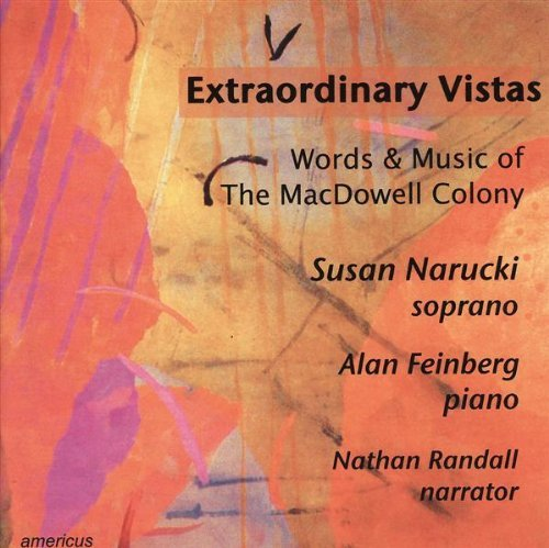 Various Randall Nathan Feinberg Alan Narucki Su Extraordinary Vistas Words And Music Of The Macdo