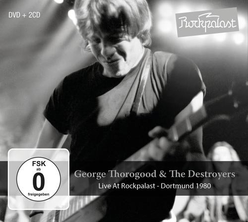 George & Destroyers Thorogood Live At Rockpalast Dortmund 1 CD DVD