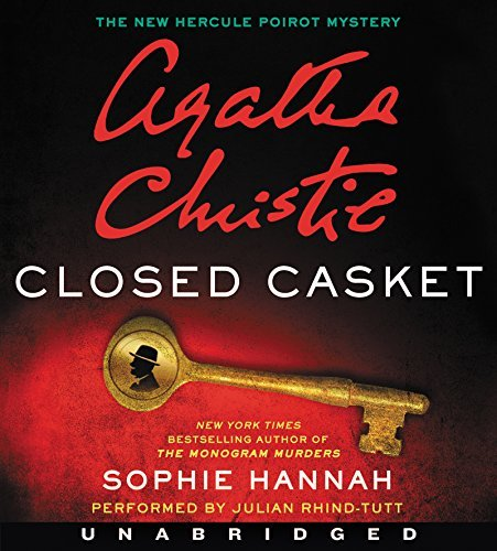 Sophie Hannah Closed Casket Low Price CD The New Hercule Poirot Mystery