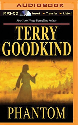 Terry Goodkind Phantom Mp3 CD