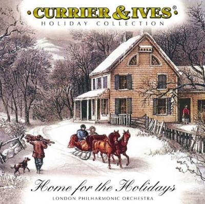 London Philharmonic Orchestra Currier & Ives Home For The Holidays