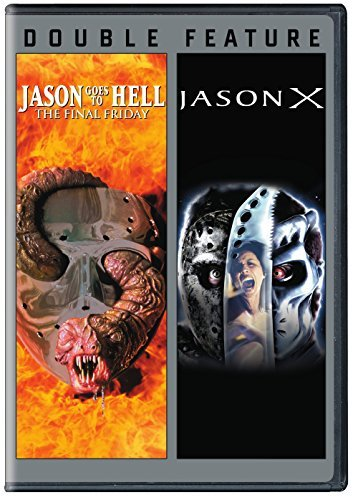 Jason Goes To Hell Jason X Double Feature DVD R