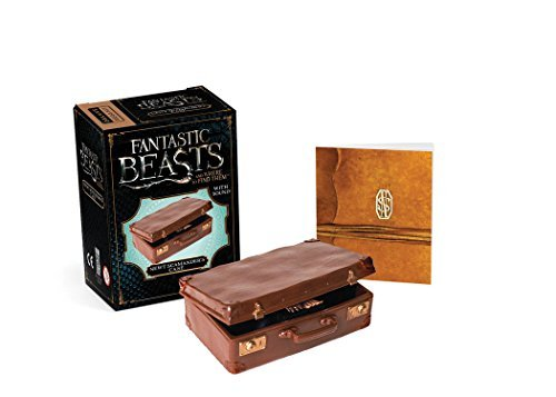 Running Press Fantastic Beasts And Where To Find Them Newt Scamander's Case With Sound