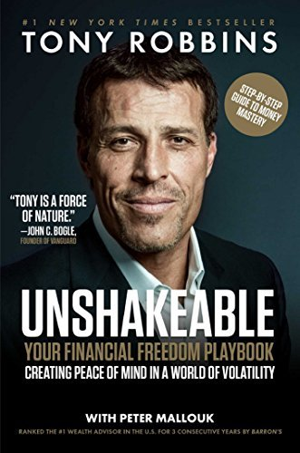 Tony Robbins Unshakeable Your Financial Freedom Playbook