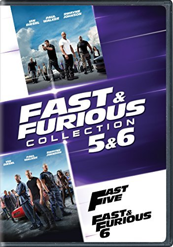 Fast & Furious 5 & 6 Collection DVD