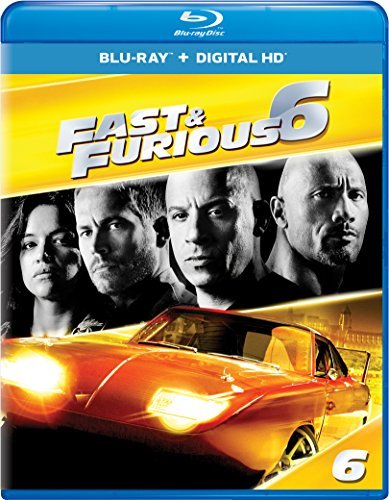 Fast & The Furious Fast & Furious 6 Blu Ray Pg13