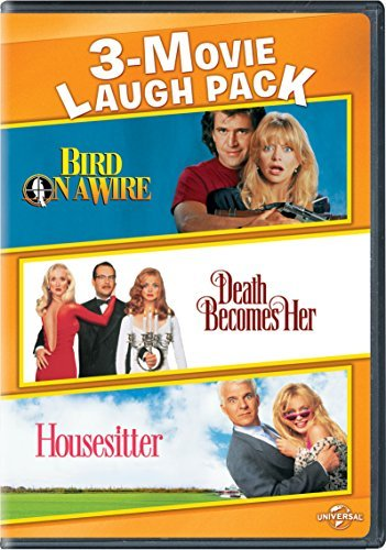 Bird On A Wire Death Becomes Her Housesitter 3 Movie Laugh Pack DVD