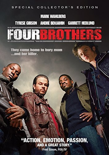 Four Brothers Wahlberg Gibson Benjamin DVD R
