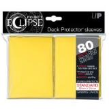 Card Sleeves Eclipse Yellow Pro Matte 80 Pack