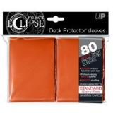 Card Sleeves Eclipse Orange Pro Matte 80 Pack