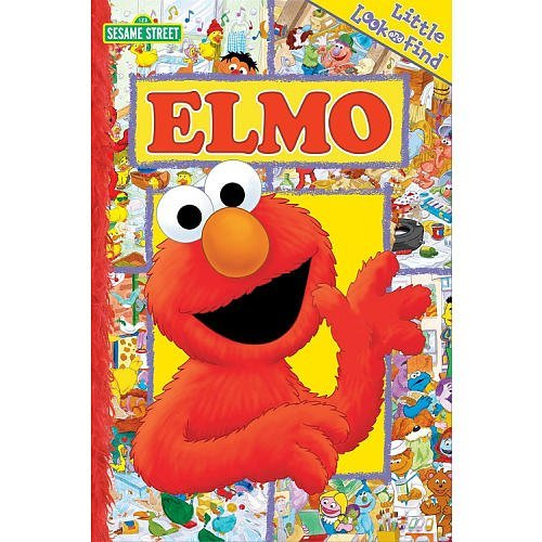 Catherine Mccafferty Sesame Street Little Look & Find Elmo