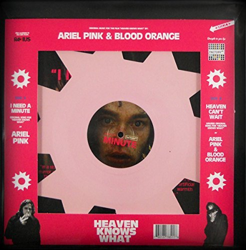 Heaven Knows What Soundtrack (pink Ninja Star Shaped Vinyl) Ariel Pink Dev Hynes Soundtrack (pink Ninja Star Shaped Vinyl)