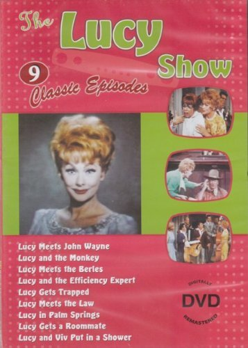 Lucy Multi The Lucy Show 9 Classic Episodes [slim Case]